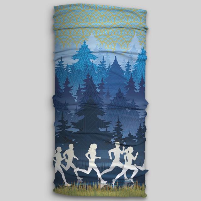 دستمال سر ورزشی - مدل Trail