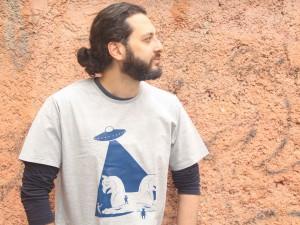 تیشرت سفر مردانه طرح شیراز