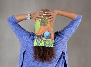 دستمال سر ورزشی - مدل دور دنیا