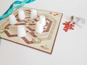 بازی رومیزی شاه دزد وزیر/ Shah,dozd,vazir boardgame