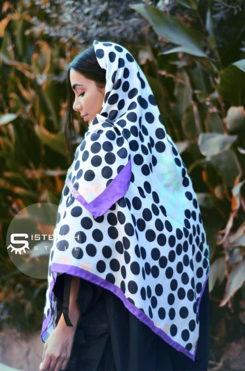 روسری خالدار